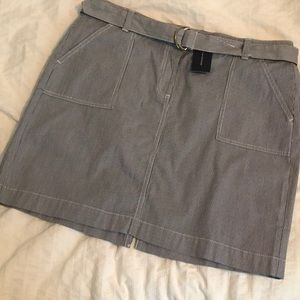 Tommy Hilfiger pinstriped skirt